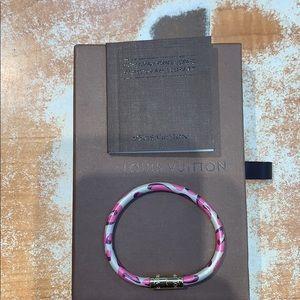 """Louis Vuitton Jewelry - Louis Vuitton monogram leopard  """"keep"""" bracelet"""